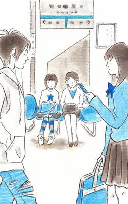 『心は近く、眼は広く』中学校道徳三年(進学社)