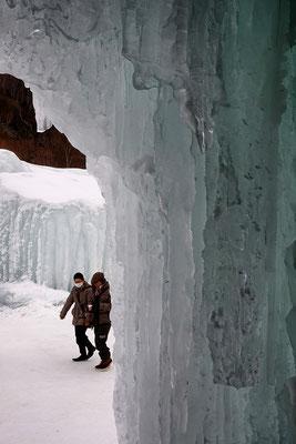 「氷のトンネル」 上田 博堅