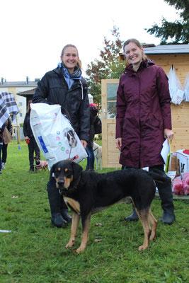 Anja und Paco - der schnellste der großen Hunde!