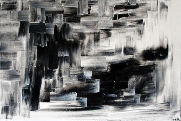 Black Steps 40 x 60 cm