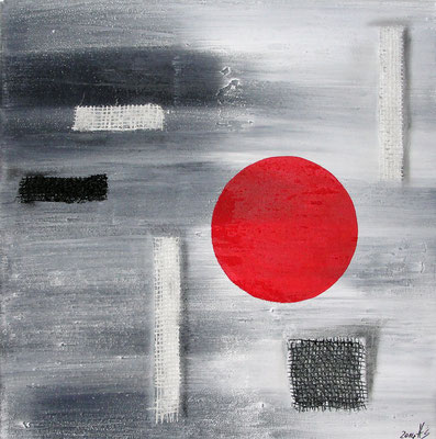 Red Planet 40 x 40 cm