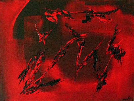 Fire Bats 30 x 40 cm