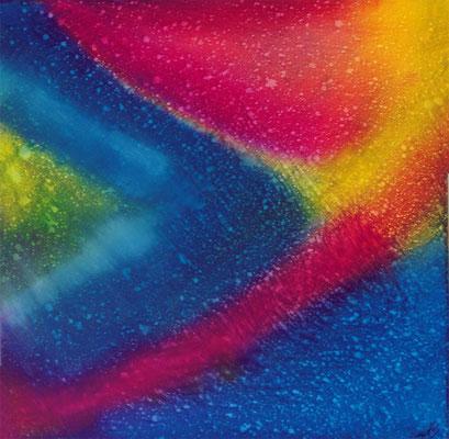 Rainbowdrops 40 x 40 cm