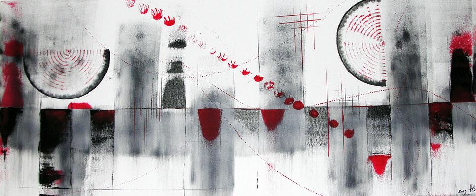 Skyline grey 30 x 70 cm