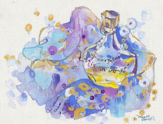 香水瓶 (2011)  / 個人蔵 sold