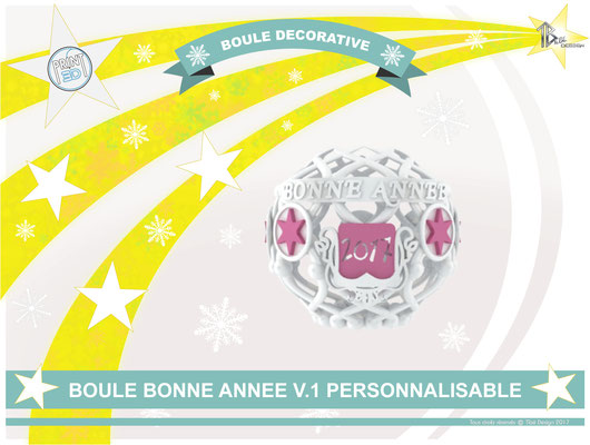 Boule décorative de l'an V.1 2017 01