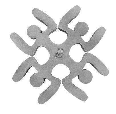 Dessous de plat Unité Human Mobilius design gris béton V3