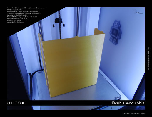 Cubimobi meuble modulable élément 05