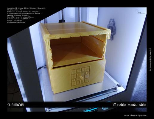 Cubimobi meuble modulable élément 08
