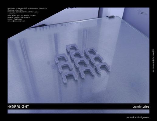 Luminaire Hedralight élement agrafes 02