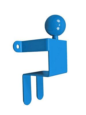 Patère ou portant design Adhésion Human Mobilius bleu 1