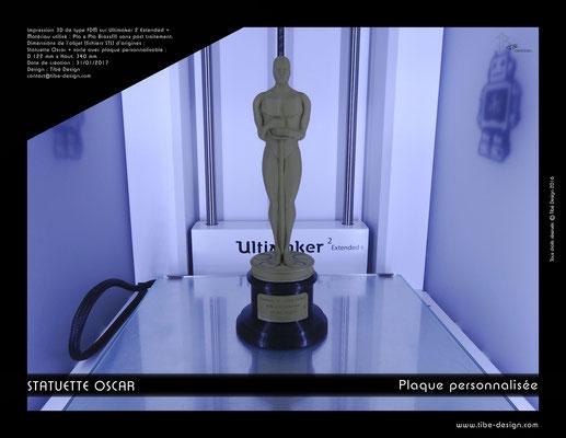 Statuette Oscar 01