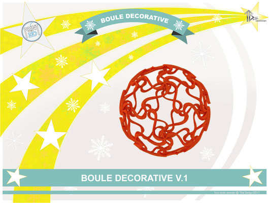 Boule décorative V.1