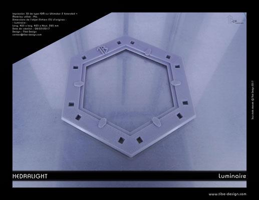 Luminaire Hedralight élement part01-02