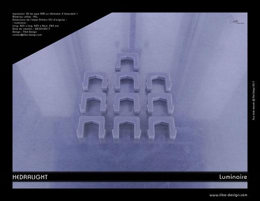 Luminaire Hedralight élement agrafes 01