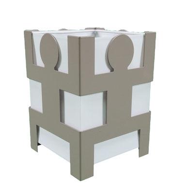 Lampe cohésion design Human Mobilius taupe