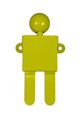 Patère ou portant design Adhésion Human Mobilius jaune 2