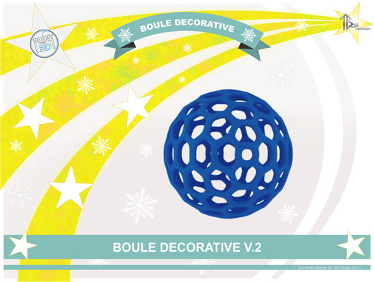 Boule décorative V.2