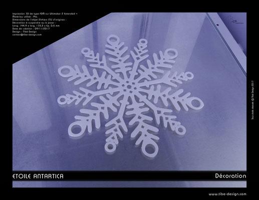 Déco Etoile Antartica