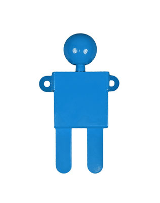 Patère ou portant design Adhésion Human Mobilius bleu 2