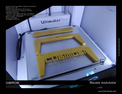 Cubimobi meuble modulable élément 12