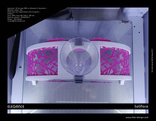 Soliflore Elégance impression 3D 4