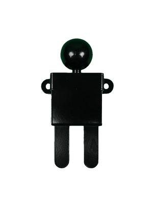 Patère ou portant design Adhésion Human Mobilius noir 3