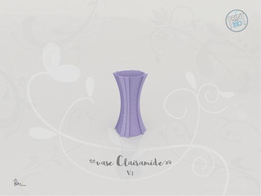 Vase Clairamide V.1