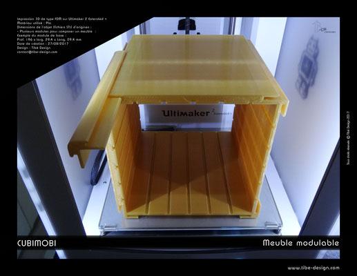 Cubimobi meuble modulable élément 04