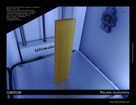Cubimobi meuble modulable élément 11