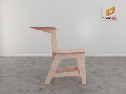 Assise ou chaise pour le créalab intérieur 5
