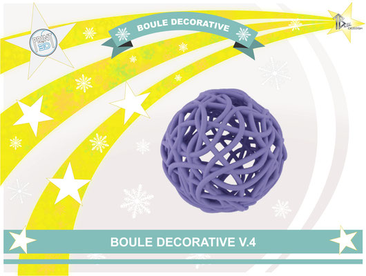 Boule décorative V.4