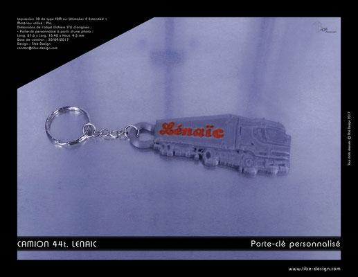 Porte-clé personnalisé Lenaïc 01