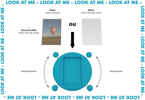 Cadre photo Look At Me présentation 1