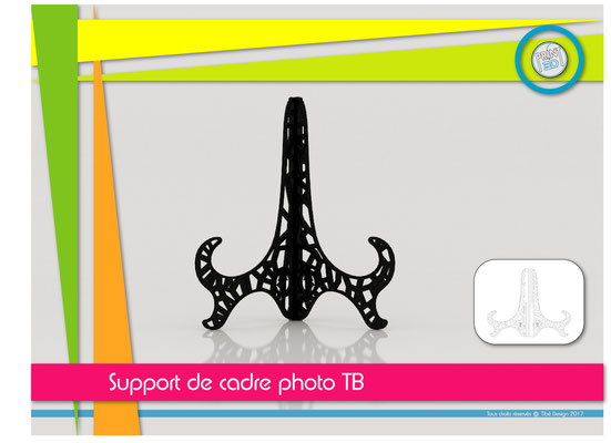 Support de cadre photo TB design 01