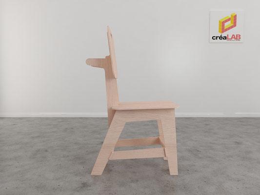 Assise ou chaise pour le créalab intérieur 4