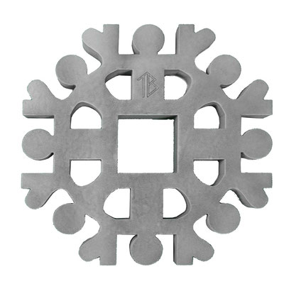 Dessous de plat Unité Human Mobilius design gris béton V5