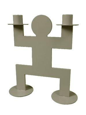 Chandelier ou bougeoir Jumo Doss Human Mobilius design taupe
