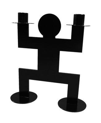 Chandelier ou bougeoir Jumo Doss Human Mobilius design noir