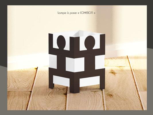 Lampe cohésion design Human Mobilius intérieur