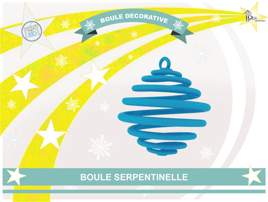 Boule décorative Serpentinelle 01
