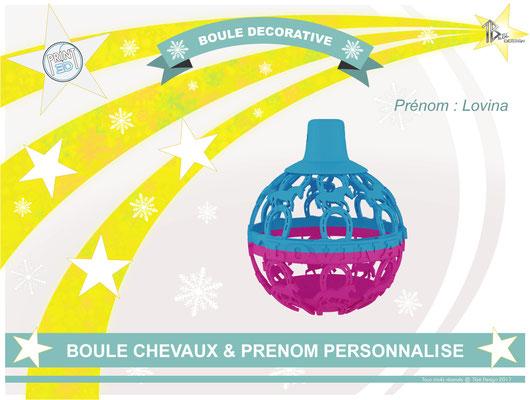 Boule Chevaux Lovina01