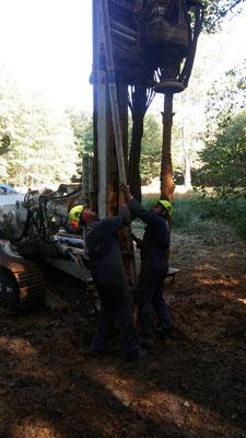Indagini geognostiche ed inserimento di tubo piezometrico - Piemonte - CN