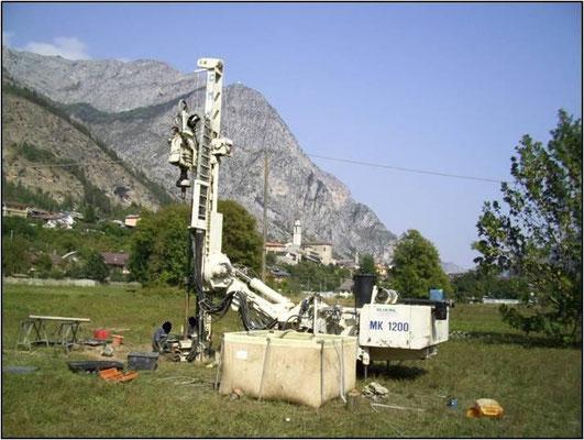 Sondaggi geognostici - Carotaggio continuo/distruzione - Piemonte CN
