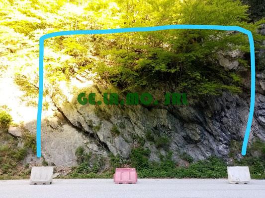 Disgaggio e consolidamento parete con reti paramassi
