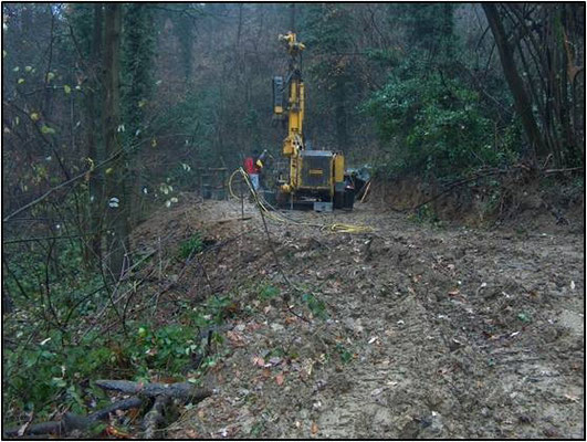 Sondaggi geognostici  - Carotaggio continuo/distruzione - Piemonte - Provincia di Cuneo