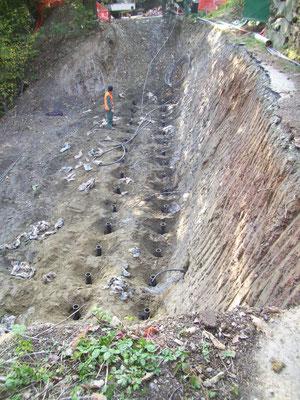 Micropali e tiranti in acciaio - Piemonte CN