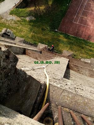 PULIZIA MURAGLIONE edilizia acrobatica
