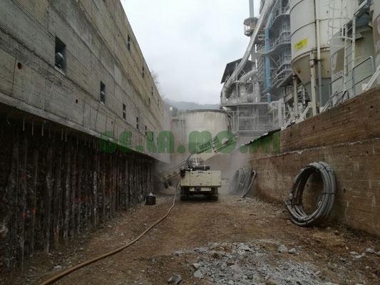 Realizzazione tiranti e successivo tensionamento - Piemonte - CN