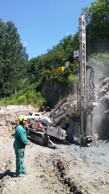 Berlinese di contenimento per fronte di scavo - Piemonte - Provincia di Cuneo